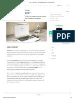 ¿Qué Es Internet_ - Concepto, Definición y Características