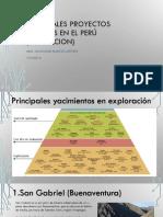 Principales proyectos mineros en el perú (EVALUACION.pptx