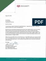 UNM Fetal Remains Response Letter