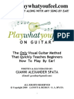 Play What You Feel on Guitar by Gianni Alexander Spata