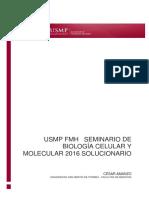 BIOLOGÍA SEMINARIO - USMP ( Semana 1-12)2018