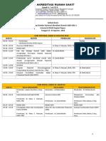 Jadwal Workshop 9