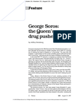 George Soros the Queens Drug Pusher