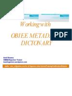 OBIEE+Dictionary