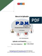 Pdm 7.0 Manual de Aplicación 2017