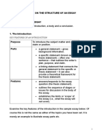 Essay Structure - Detailed With Examples