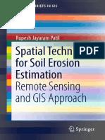Spatial Techniques for Soil Erosion Estimation