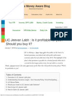 LIC Jeevan Labh is It Profitable for You