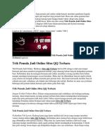 Trik Pemula Judi Online Situs QQ Terbaru.docx