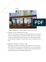 Adulteration Lab Report