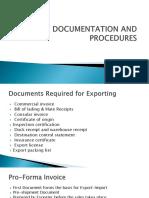 Export Documentation