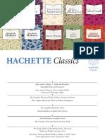 Hachette Classics Brochure 2018