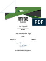 CAMS Online Preparation