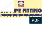 Cataloge for Bis Pipe Fitting