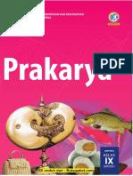 Buku Siswa Prakarya Kelas 9 K13 Revisi 2018