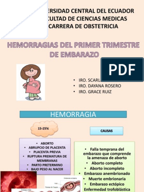 tipos de hemorragias linear unit el elementary textbook trimestre del embarazo