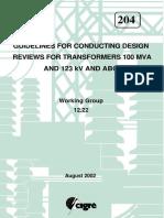 Guide on Transformer Lifetime Data Management