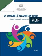 Rapport o 2015 Albania