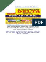DMRC Coaching Institute Delhi