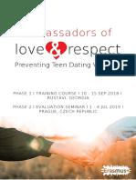Ambassadors of Love & Respect