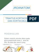 Tr. Kortikospinal & Kortikobulbar