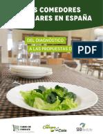 Los comedores escolares en España