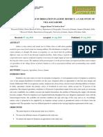 8. Format. App - Descriptive Analysis of Irrigation in Jammu District a Case Study of Village Sarore