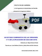 Un Estudio Comparativo de Las Versiones 5 y 6 de La Aplicación de CAD-CAM Catia