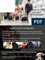 Career of Flight Attendant Report