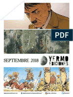 Novedades Yermo Septiembre 2018