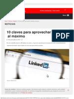 10 Claves Para Aprovechar LinkedIn Al Máximo