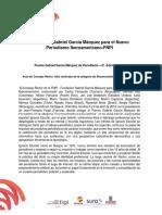 Acta del Consejo Rector de la FNPI