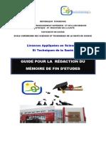 Guide Mmoire Licences Appliques 2015 1 1