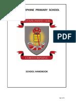Corstorphine Handbook August 2017