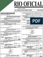 Diário oficial da Paraíba traz lista de aprovados em concurso da PM e Bombeiros