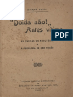 Maria Feio - Doida não! Antes vítima