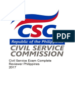 341068284 Civil Service Exam Complete Reviewer Philippines 2017 (1)