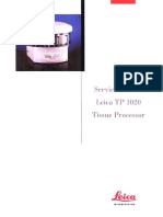 Leica TP1020 Tissue Processor - Service Manual