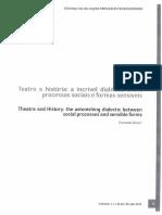 Teatro e história a incrível dialética entre processos sociais e formas sensíveis.pdf