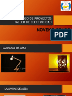 Catalogo de Proyectos Taller de Electricidad