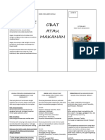 Leaflet Interaksi Obat