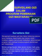 Konsep Surveilens Gizi