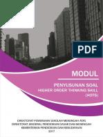 Modul Penyusunan Soal HOTS  Th 2018 terbaru.pdf