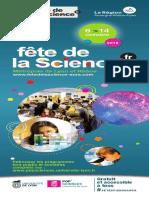 Programme Fete de La Science Lyon Et Rhone 2018