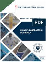 Guia de Practicas de Laboratorio de Química Analítica 2018