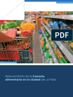 Relevamiento de la Canasta alimentaria en la ciudad de La Plata
