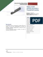 Analisis Fea de Artesa de Rosaca