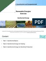 Tutorial Geothermal Energy Tasks