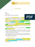 Carta Brasilia 1995