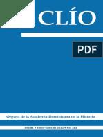 Revista Clío, No. 183, enero-junio 2012